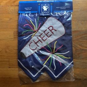 Other - Garden size flag for the cheerleader in your life